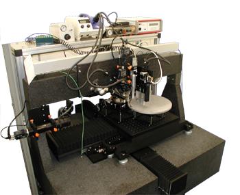 微加工系统,350 x 350 mm2 平台