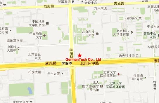 北京汇德信科技有限公司地理位置地图